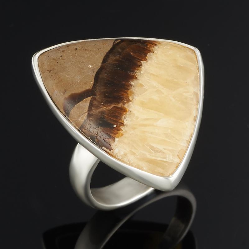 Кольцо симбирцит (серебро 925 пр.) размер 18