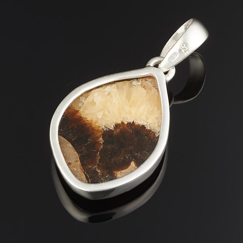 Кулон симбирцит Россия (серебро 925 пр.)