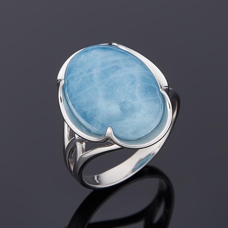 Кольцо аквамарин (серебро 925 пр.) размер 17,5 кольцо аквамарин серебро 925 пр размер 17