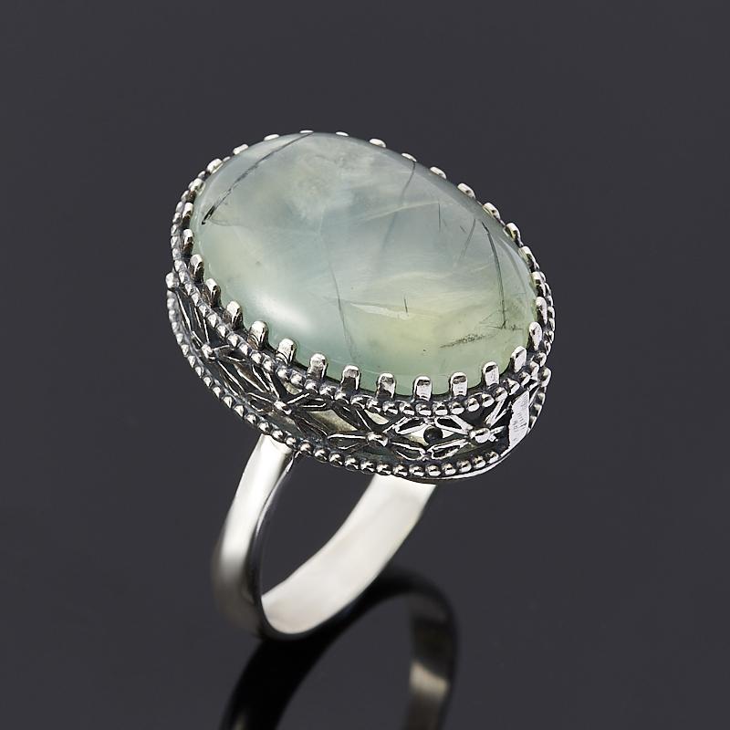 Кольцо пренит (серебро 925 пр.) размер 18 кольцо кахолонг серебро 925 пр размер 18