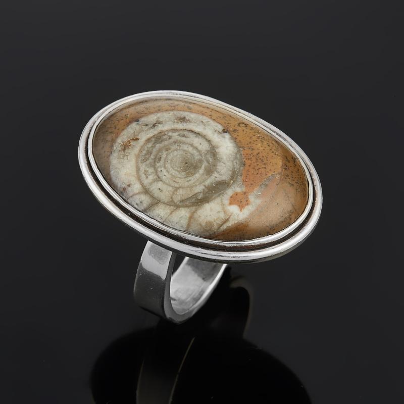 Кольцо окаменелость (серебро 925 пр.) размер 17