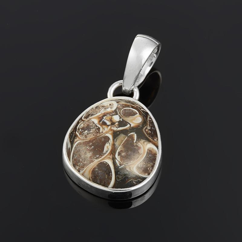 Кулон агат черепаховый (серебро 925 пр.) кулон агат моховой овал серебро 925 пр