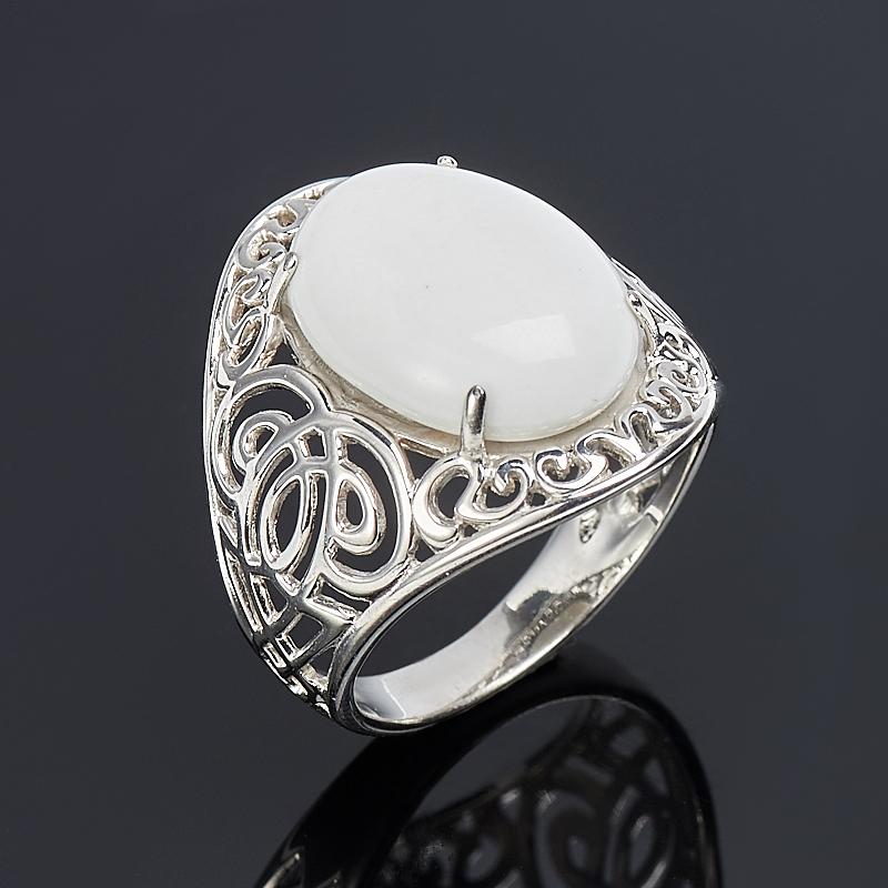 Кольцо кахолонг (серебро 925 пр.) размер 17,5 браслет джессика кахолонг им агата