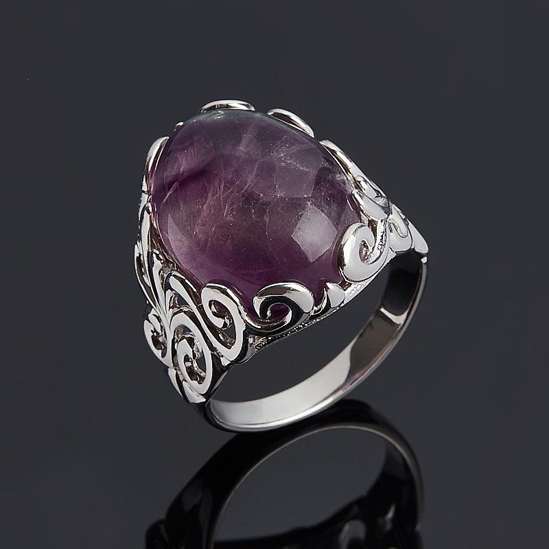 Кольцо флюорит (серебро 925 пр.) размер 17