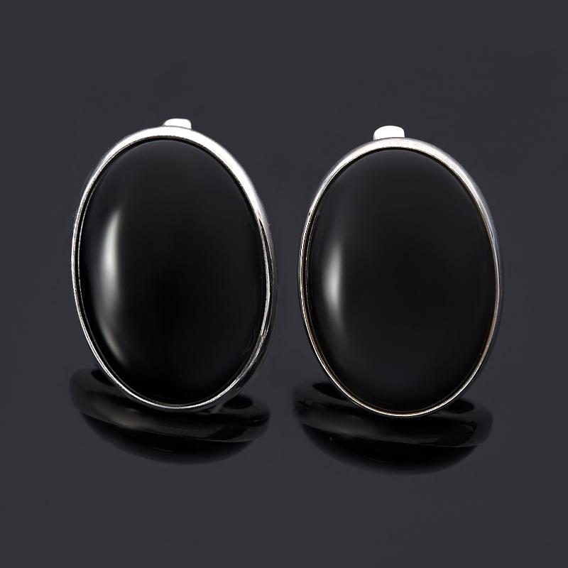 Серьги агат черный (серебро 925 пр.) orient часы orient tt0j001b коллекция sporty quartz