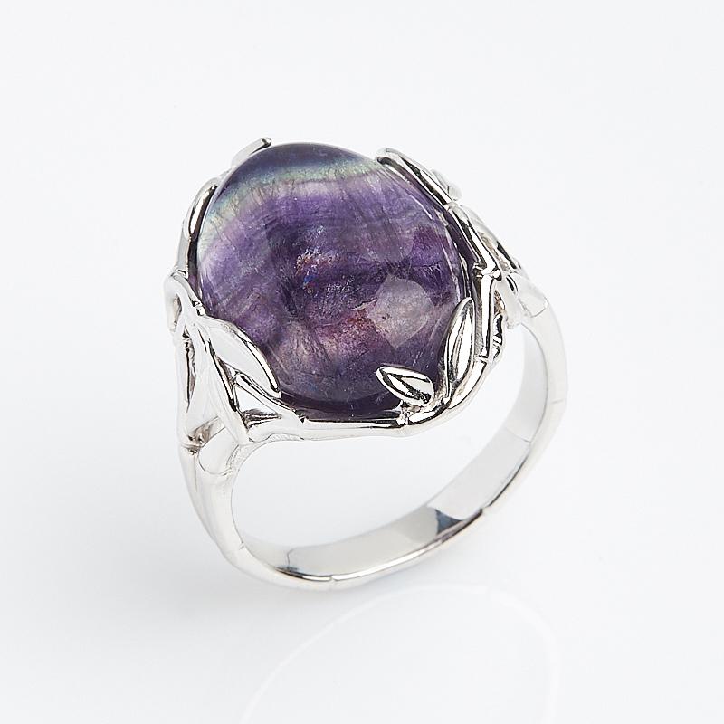 Кольцо флюорит (серебро 925 пр.) размер 18,5