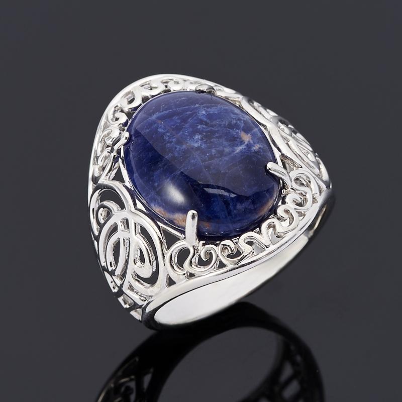 Кольцо содалит Бразилия (серебро 925 пр.) размер 18