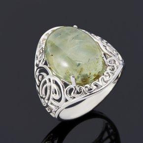Кольцо пренит Мали (серебро 925 пр.) размер 18