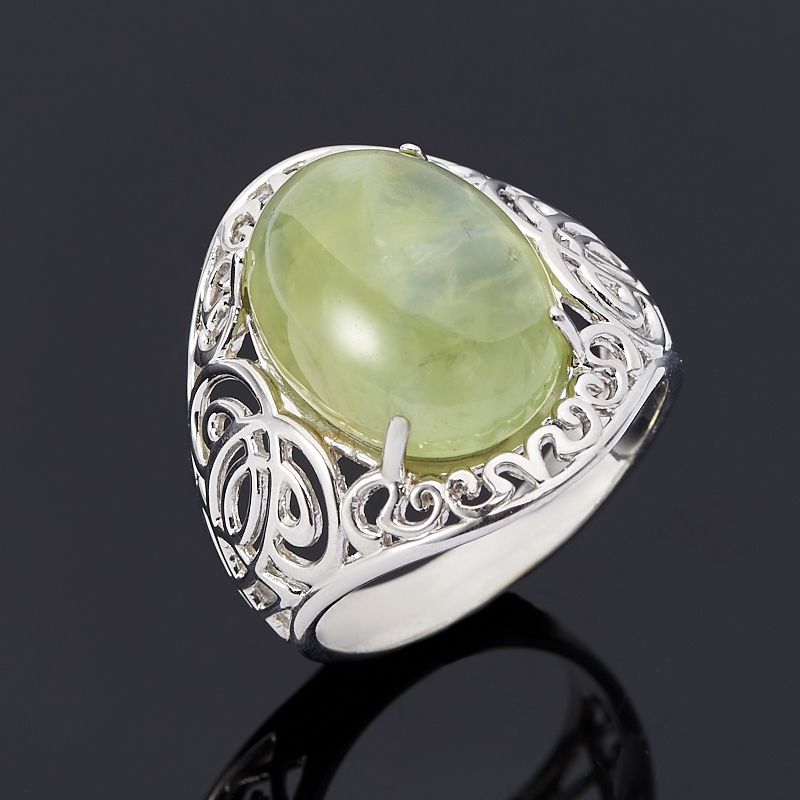 Кольцо пренит (серебро 925 пр.) размер 18,5
