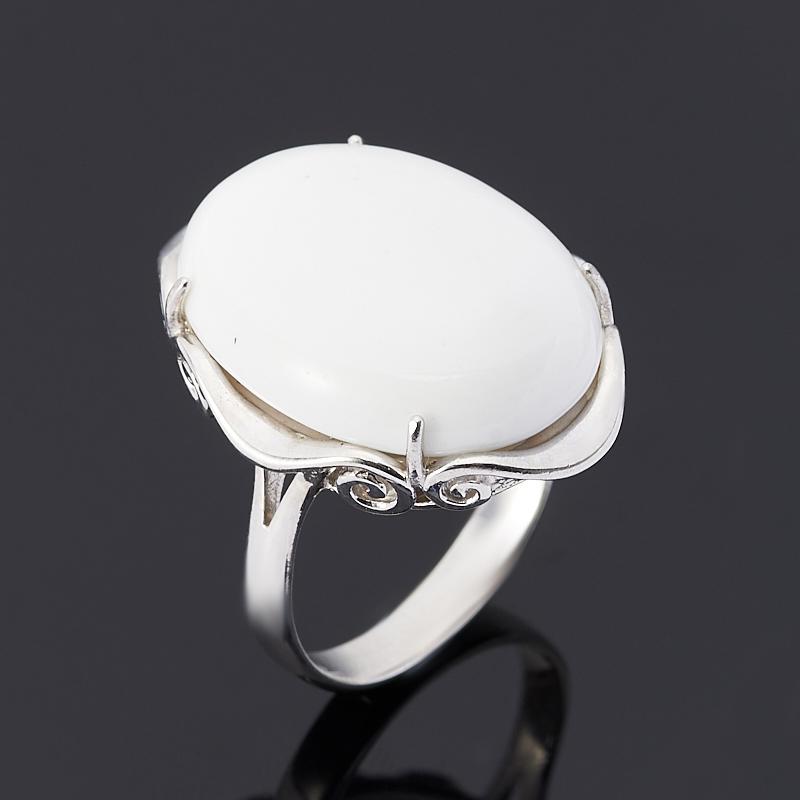 Кольцо кахолонг (серебро 925 пр.) размер 17 браслет джессика змеевик кахолонг