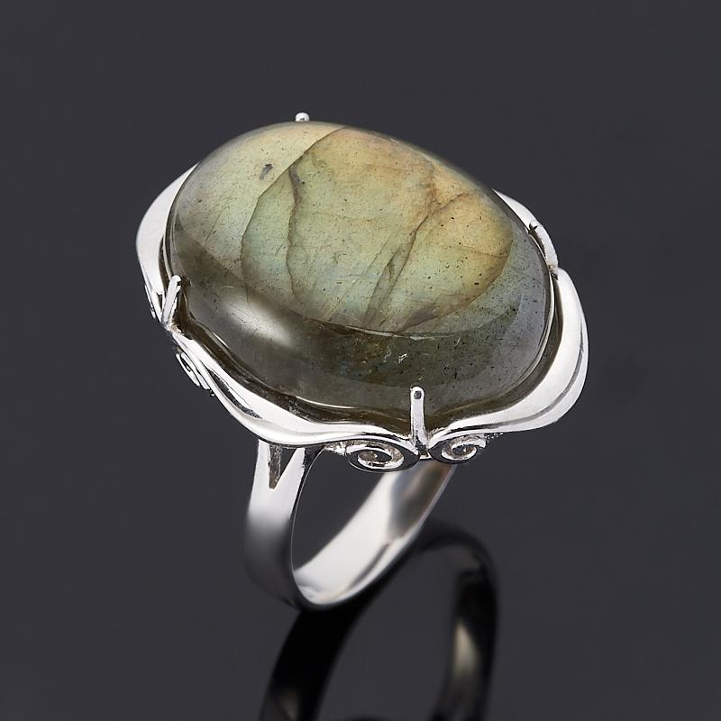 цена на Кольцо лабрадор (серебро 925 пр.) размер 18