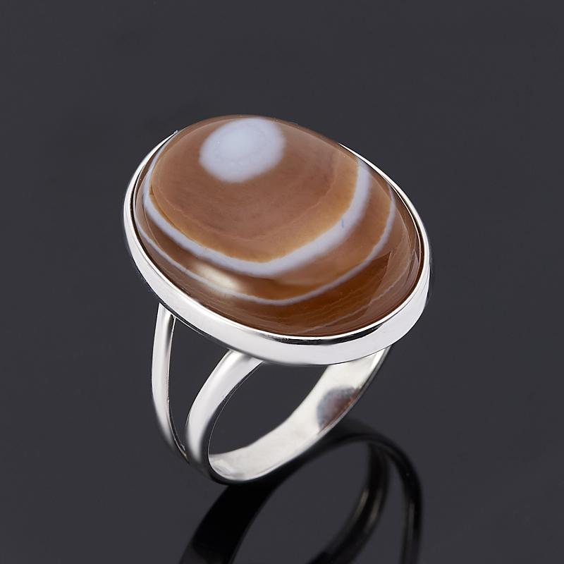 Фото - Кольцо агат серый (серебро 925 пр.) размер 17,5 кольцо агат серый серебро 925 пр размер 21 5