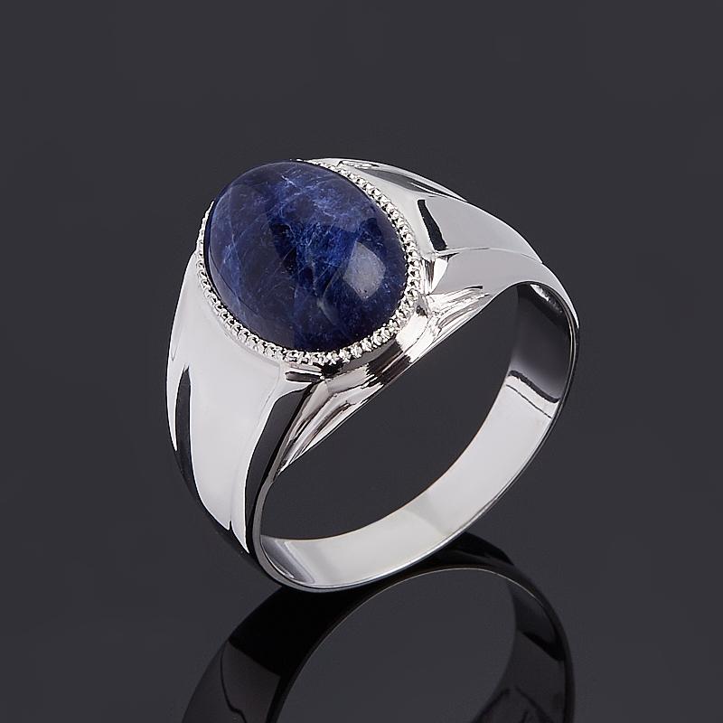 Кольцо содалит (серебро 925 пр.) размер 20,5