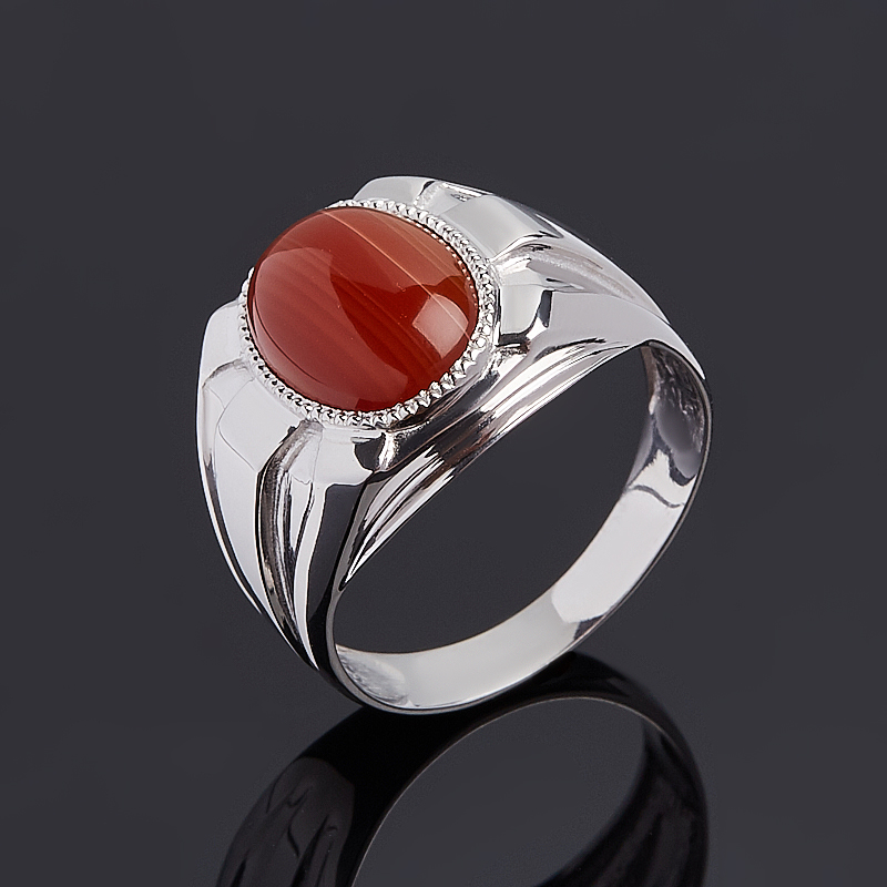 Кольцо сердолик (серебро 925 пр.) размер 20 кольцо сердолик серебро 925 пр размер 20