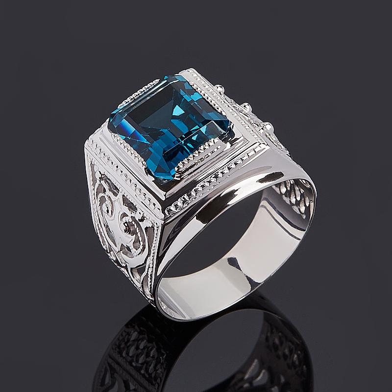 Кольцо топаз лондон огранка (серебро 925 пр.) размер 20,5 кольцо коюз топаз кольцо т703016392