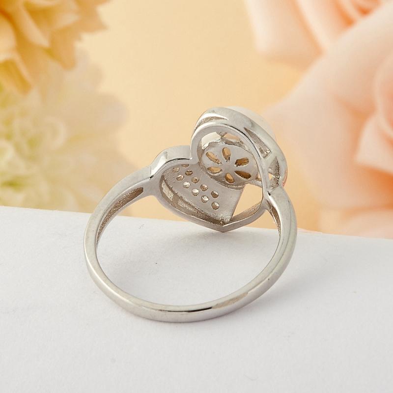 [del] Кольцо жемчуг Малайзия (серебро) размер 16