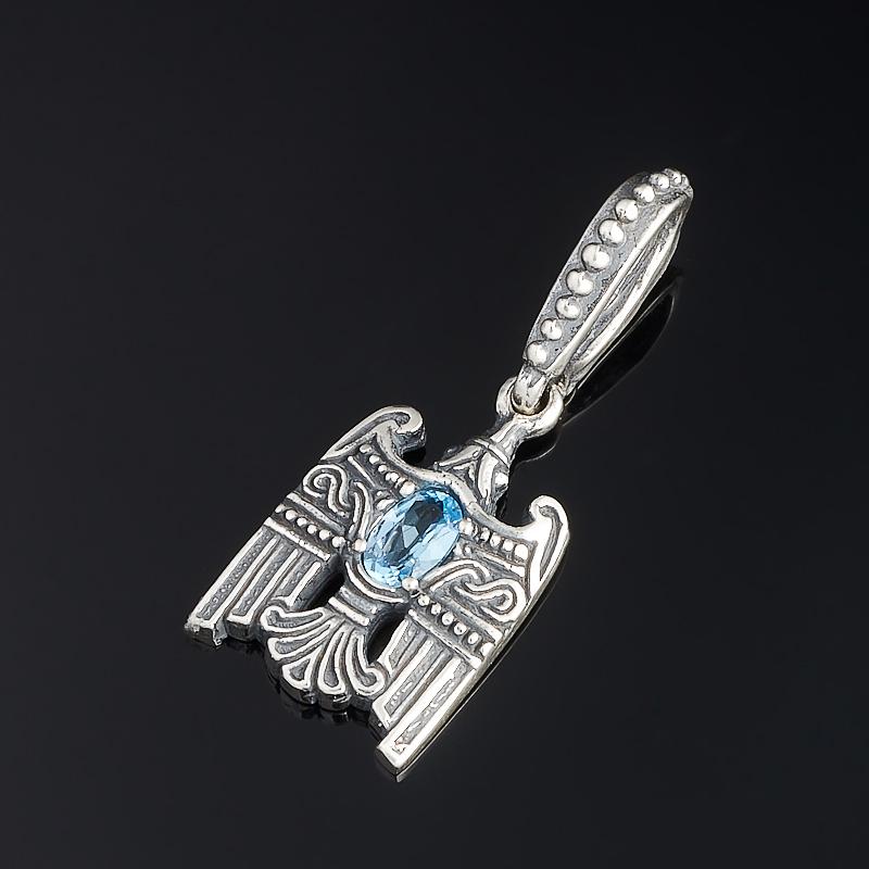 Кулон топаз голубой огранка (серебро 925 пр.) конструктор краснокамская игрушка к 02 пираты 40 элементов