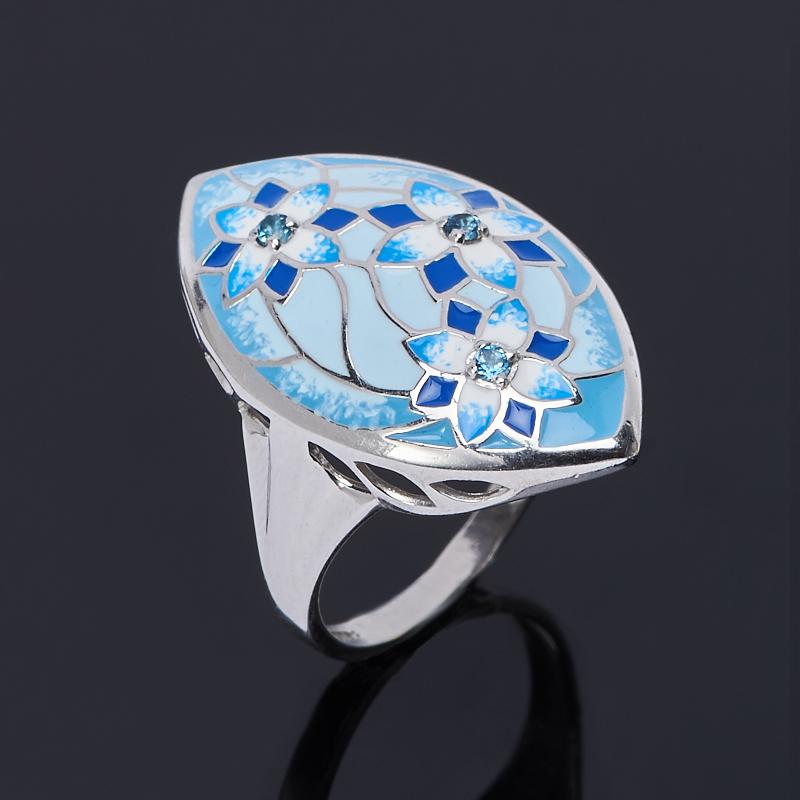 Кольцо топаз лондон огранка (серебро 925 пр.) размер 17,5 кольцо коюз топаз кольцо т747017362 01