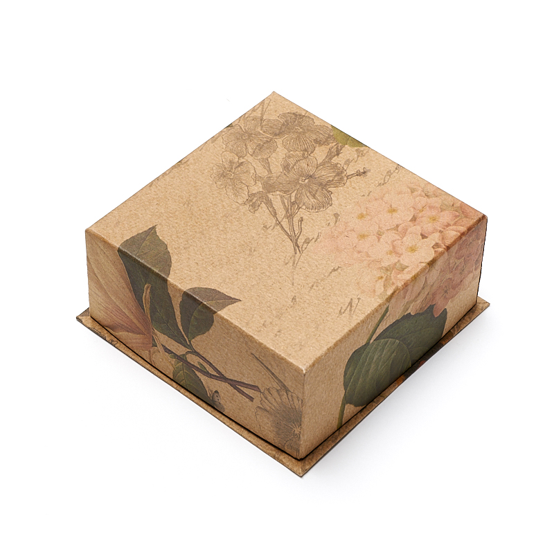 Подарочная упаковка под комплект (кольцо, серьги) 90х90х40 мм