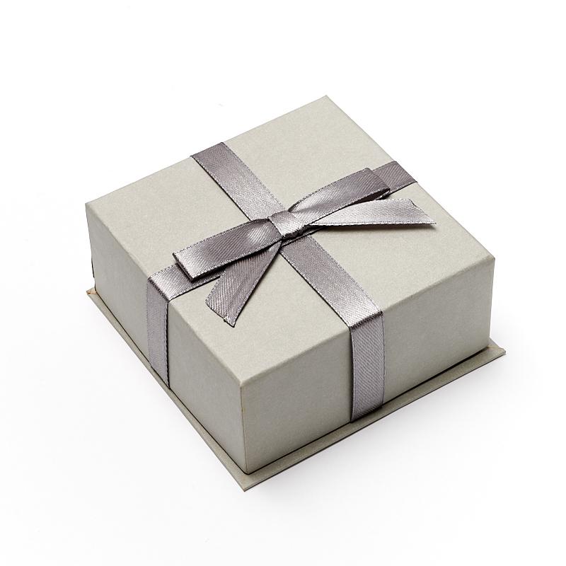 Подарочная упаковка под комплект (кольцо, серьги) 95х95х45 мм