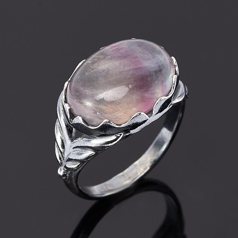 Кольцо флюорит (серебро 925 пр.) размер 17,5