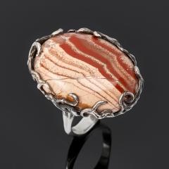 Кольцо яшма пестроцветная Мадагаскар (серебро 925 пр.) размер 19,5