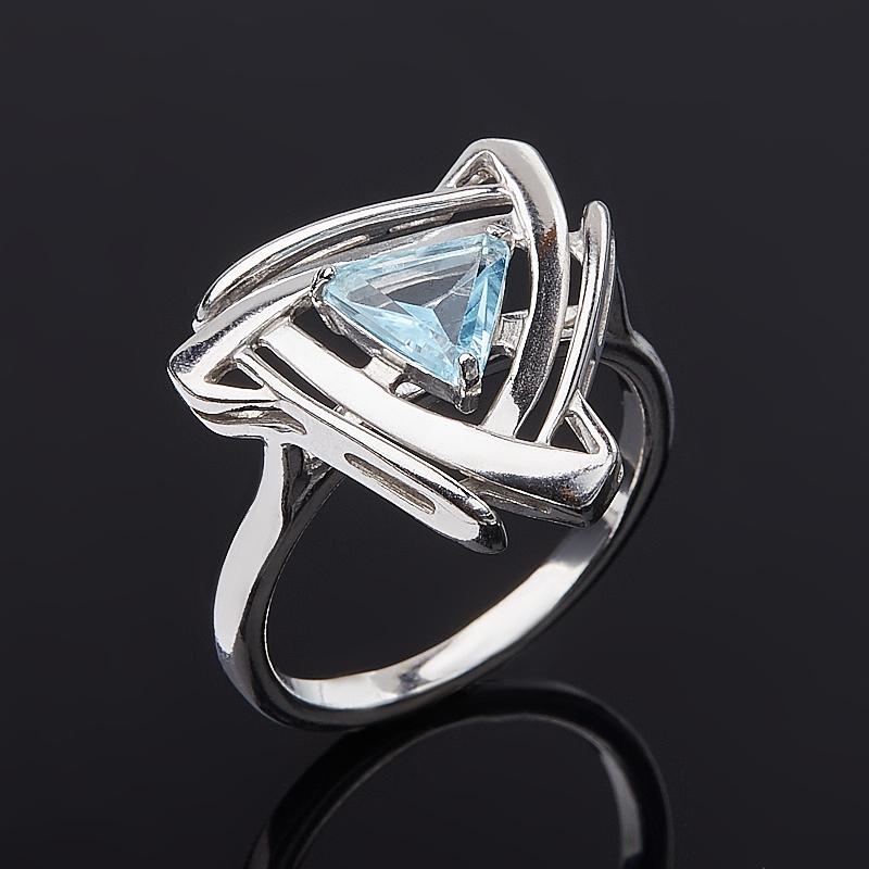 Кольцо топаз голубой (серебро 925 пр.) огранка размер 19 кольцо коюз топаз кольцо т141018287 page 5
