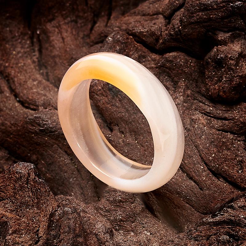 Кольцо агат (цельное) размер 17,5