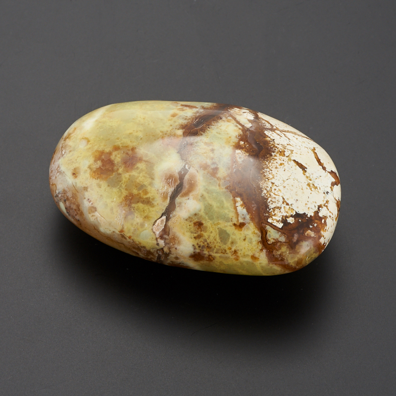 Галтовка  Опал фисташковый Мадагаскар (7-8 см) (1 шт)