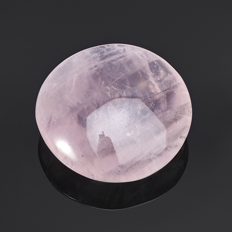 Галтовка Розовый кварц Мадагаскар (5-6 см) 1 шт