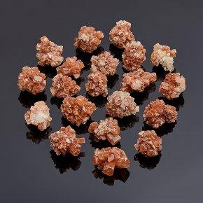 Друза арагонит оранжевый Марокко (2-3 см) 1 шт