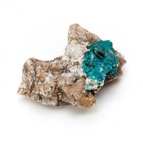 Кристалл в породе диоптаз Казахстан XS