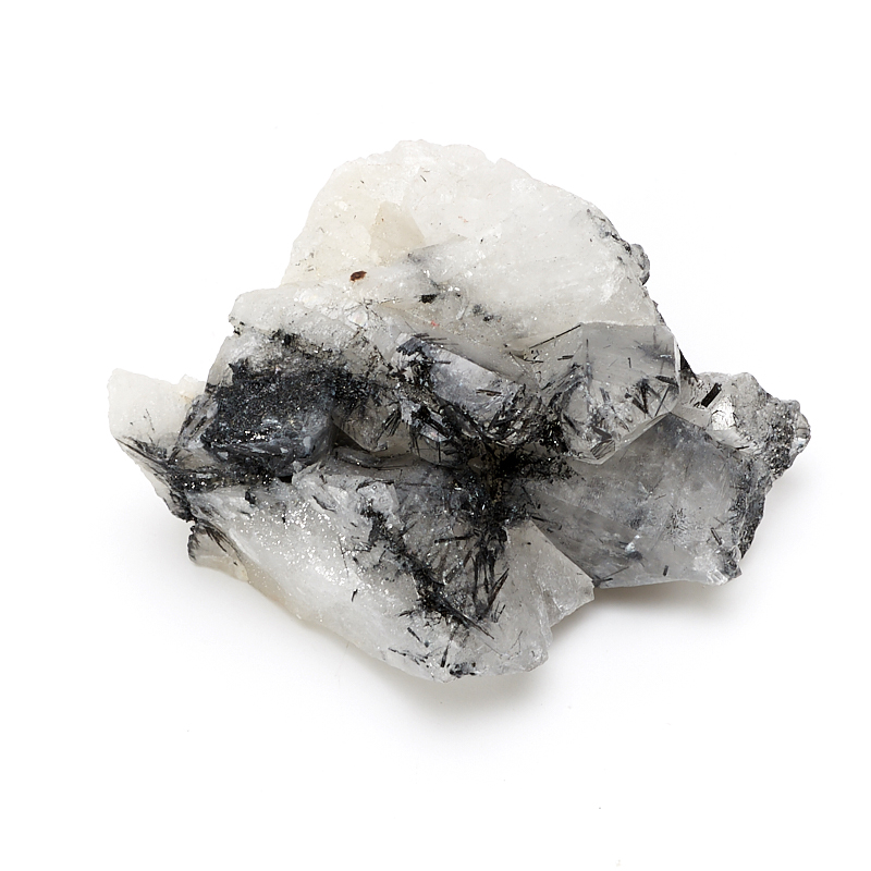 Друза турмалин черный (шерл) в кварце XS zogaa черный номер xs