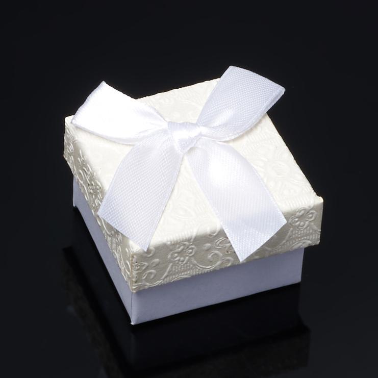 Подарочная упаковка под кольцо/серьги 45х45х30 мм набор серьги кольцо bijoux annabelle набор серьги кольцо page 1