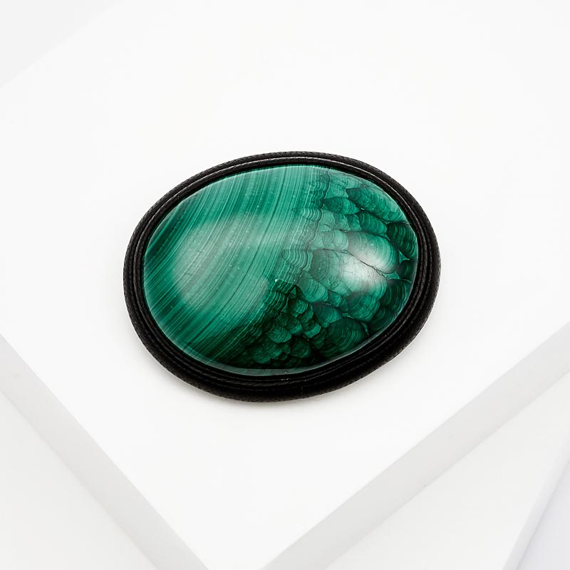 Фото - Брошь малахит (натуральная кожа) брошь blucome bijouteria esmaltes 7106100495