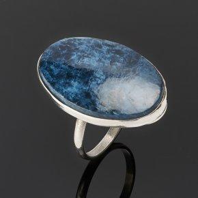Кольцо родусит Казахстан (нейзильбер) размер 19,5