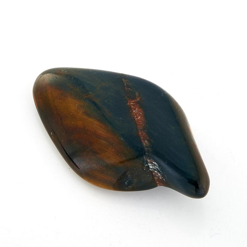 Галтовка Тигрово-соколиный глаз 4-5 см ЮАР 1 шт