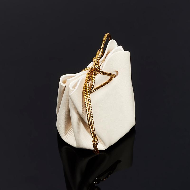 Подарочная упаковка универсальная (мешочек объемный слоновая кость) 35х35х40 мм подарочная упаковка универсальная мешочек объемный коралловый 40х40х60 мм