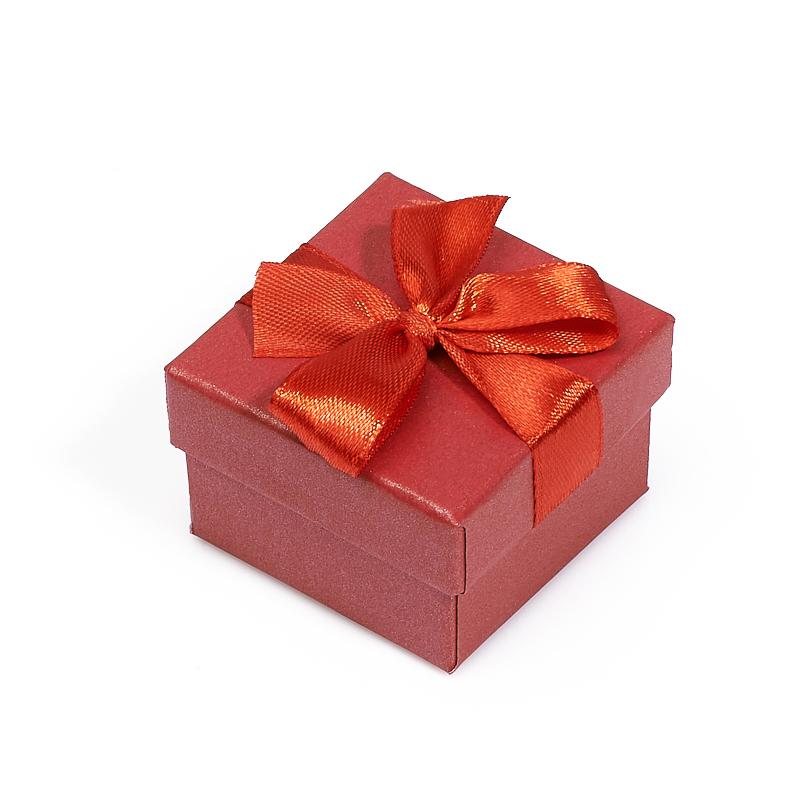 Подарочная упаковка под кольцо/серьги 40х40х30 мм набор серьги кольцо bijoux annabelle набор серьги кольцо page 1