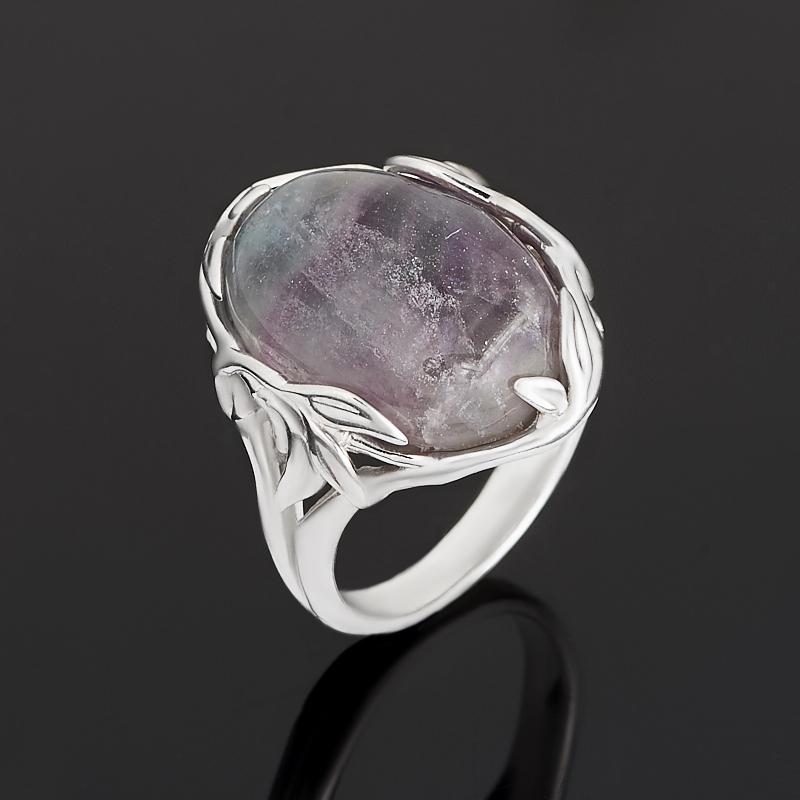 цена на Кольцо флюорит (серебро 925 пр.) размер 18