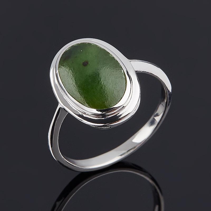 Кольцо нефрит зеленый (серебро 925 пр.) размер 16,5 кольцо нефрит зеленый серебро 925 пр размер регулируемый