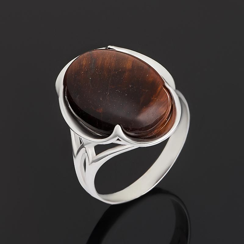 Кольцо бычий глаз ЮАР (серебро 925 пр.) размер 18