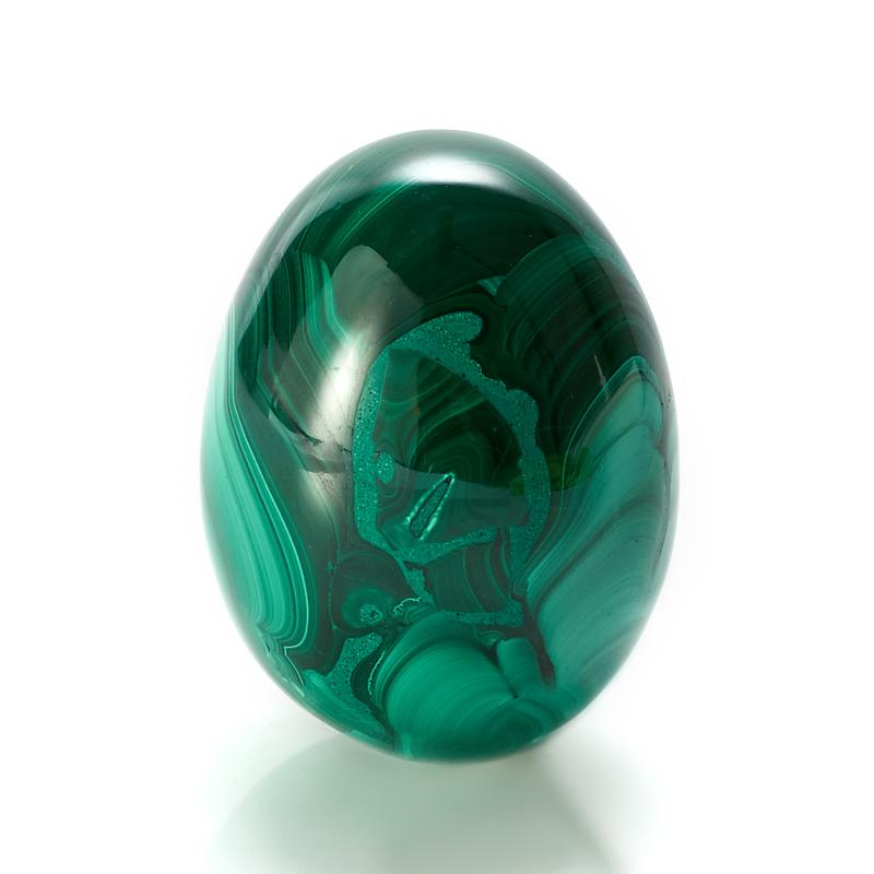 Яйцо малахит  5 см