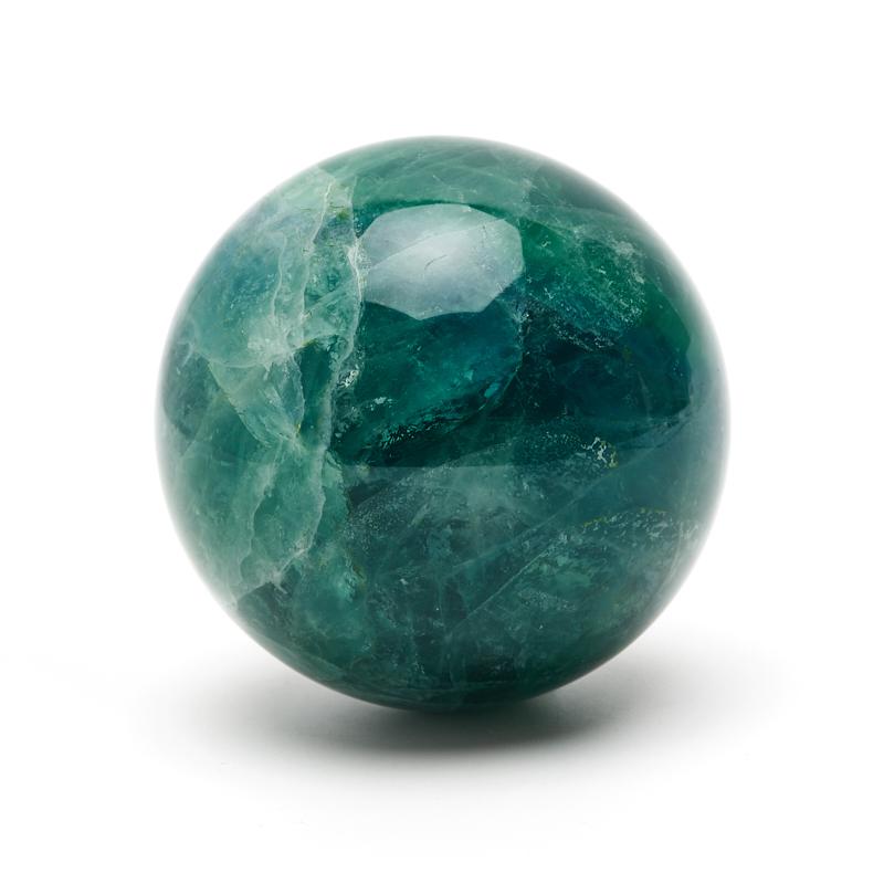 Шар флюорит зеленый 6,5 см цена