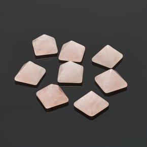 Пирамида розовый кварц Бразилия 1-1,5 см