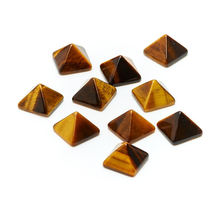 Фото - Пирамида тигровый глаз 1-1,5 см финишный гвоздь swfs свфс din1152 1 8х40 25кг тов 041025