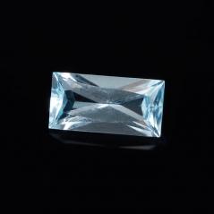 Огранка топаз голубой Бразилия багет 5*10 мм