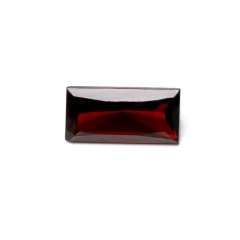 Огранка гранат альмандин Индия багет (1 шт) 5*10 мм