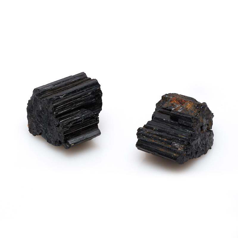 Кристалл турмалин черный (шерл) (3-3,5 см) 1 шт