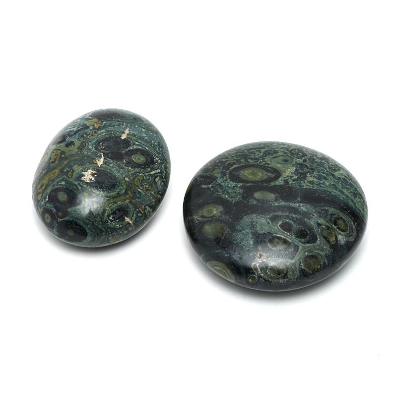 Галтовка яшма зеленая (3-4 см) 1 шт